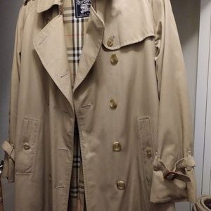 Burberry classic long trench coat
